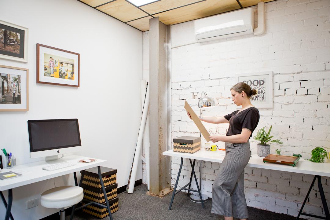 Lady in office